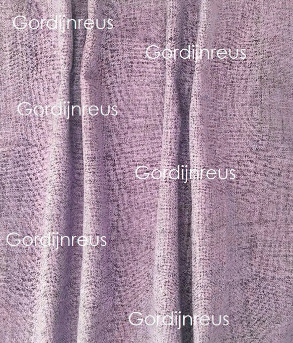 100% Verduisterend Plooigordijn Violet 280 cm breed x 2