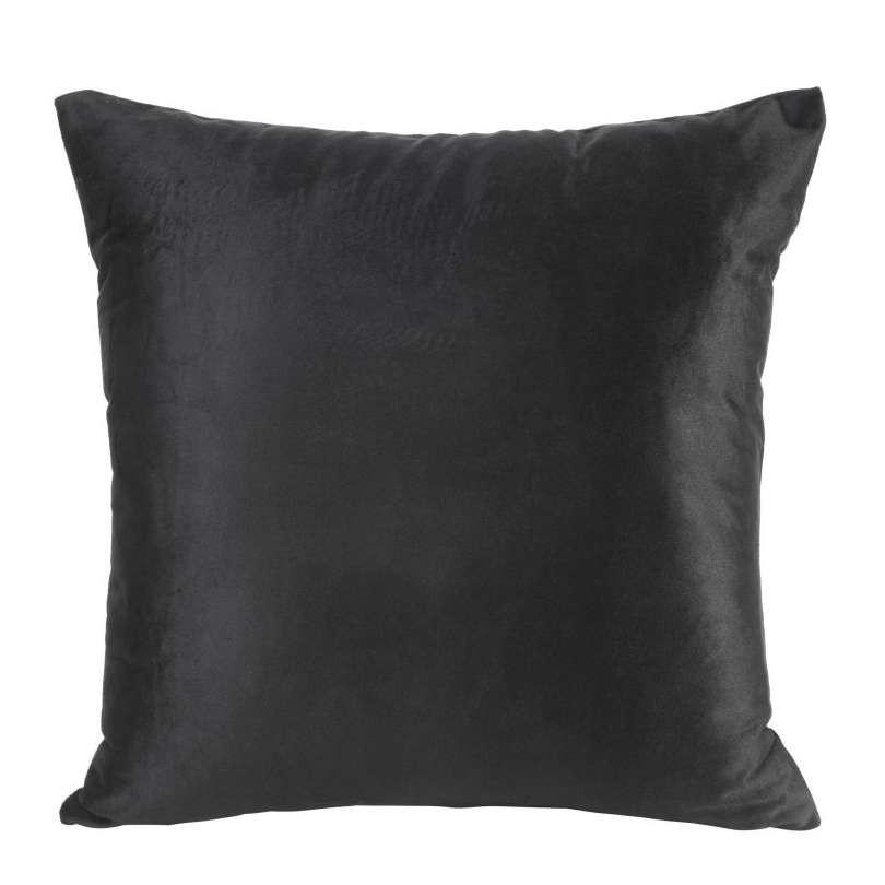 Kussenhoes velvet zwart