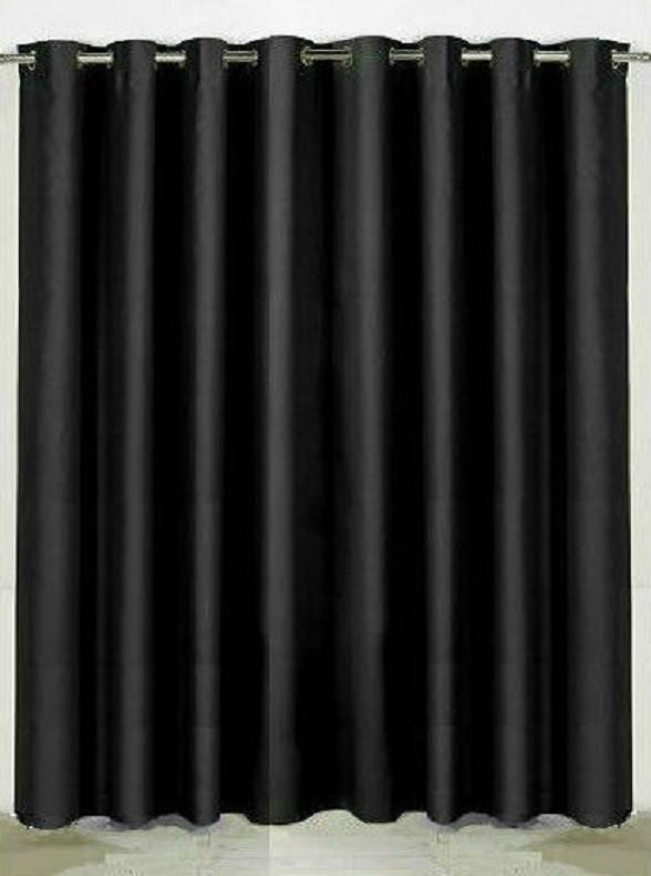 Ringgordijn zwart verduisterend
